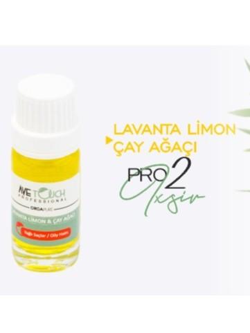 Lavanta Limon & Çay Ağacı Yağlı Saçlar / Oily Hairs